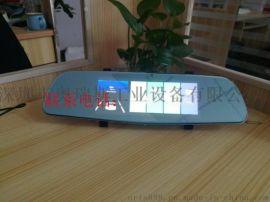 深圳厂家销售前后双录高清大屏狙影行车记录仪
