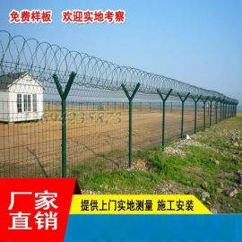 茂名道路防护网包施工 肇庆工厂铁丝网围栏 工地钢丝栅栏