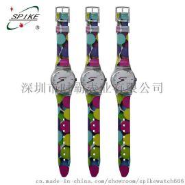 手表廠家批發三文治斯沃琪塑膠禮品手表