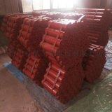 內蒙古洗煤廠108*380的皮帶輸送機託輥