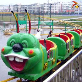 儿童公园娱乐设备青虫滑车, 户外游乐场设备厂