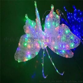 3D造型燈 滴膠蝴蝶裝飾燈  戶外景觀燈