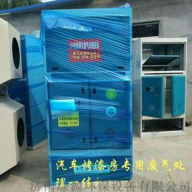 立式光氧一体机 汽车喷漆房环保设备