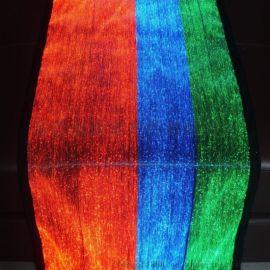 发光面料,夜光发亮布发光材料,光纤面料门窗