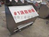 銷售不鏽鋼防火沙箱油站防火腳踏式防火沙箱品質保證