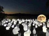 全國供應中秋節月兔月球月亮月光兔月光球廠家