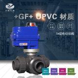+GF+ TA-543型UPVC电动三通球阀