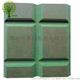 潍坊叶林同专业生产可以扔在水里泡的绿色防潮密度板