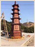 定做铸造三层烧纸炉、五层焚经炉,铸铁七层元宝炉厂家