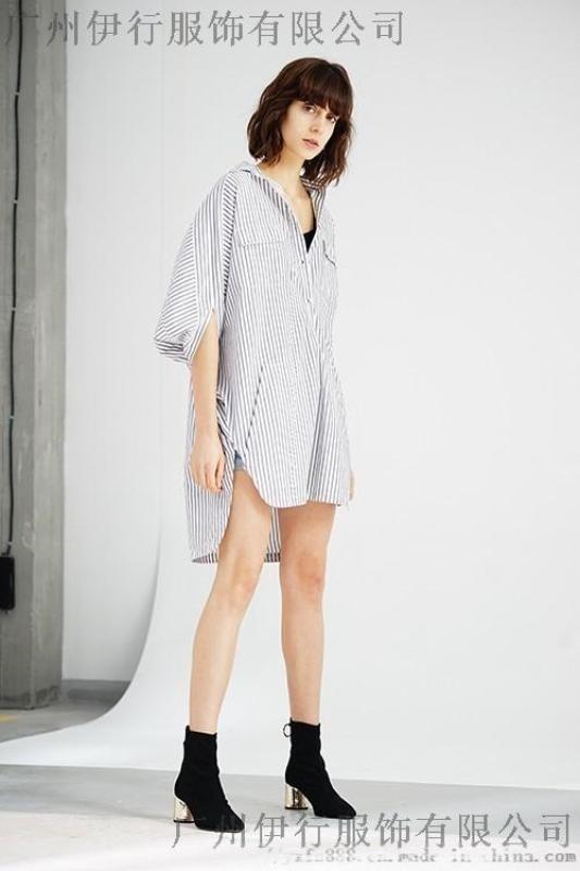 梵凱女裝2019春夏上衣品牌折扣店貨源幾折進貨