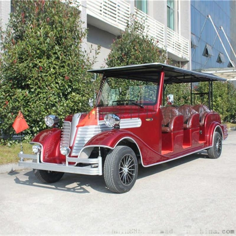 12座豪華電動觀光車,法國紅