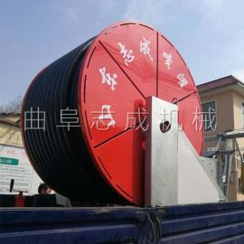 志成移动式远程喷灌机 JP75-300卷盘式喷灌机