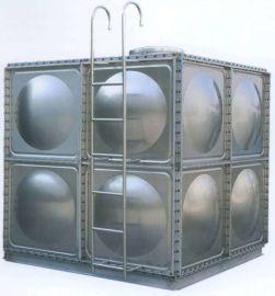 整体水箱玻璃钢水箱 不锈钢消防水箱定做
