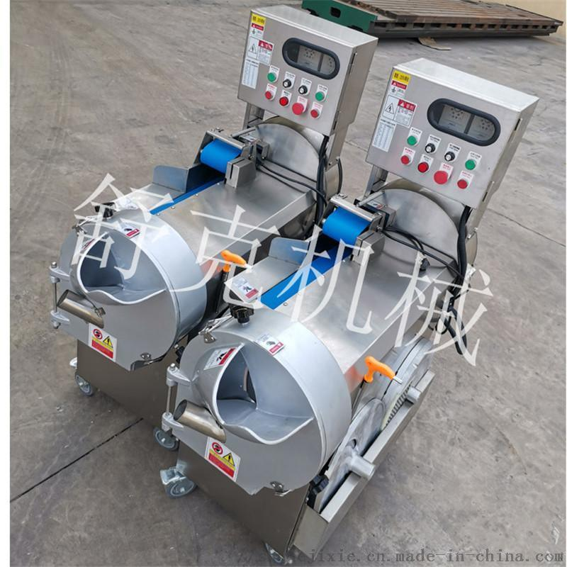大批量多功能切菜機全自動雙頭蘿蔔切菜機