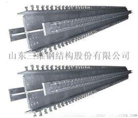 山东十字型柱来图加工出口厂家——三维钢构