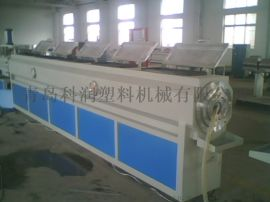PVC 单壁波纹管生产线