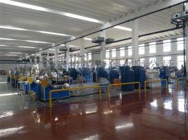 PVC包覆玻璃纤维拉丝生产线