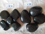 哈爾濱精品黑色雨花石 永順鋪路用黑色卵石廠家