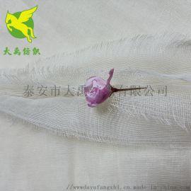 棉四层纱布方巾面料 精梳紧密纺织全棉四层平纹纱布