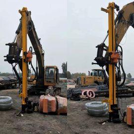 挖改钻 挖改钻机 挖掘机改装的凿岩机 挖改潜孔钻岩