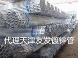 Q235鍍鋅帶方管 天津鍍鋅帶方管