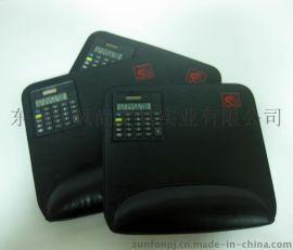 厂家直销 皮革鼠标垫 护腕计算器鼠标垫 定制LOGO广告礼品鼠标垫子