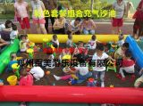 商丘公园儿童充气沙滩池,决明子代替沙子更环保