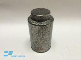 圆形茶叶铁罐,帽子盖铁罐,马口铁盒生产厂家