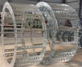 钢厂专用钢制拖链 钢铝拖链