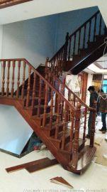 供应武汉实木楼梯钢木楼梯厂家自营