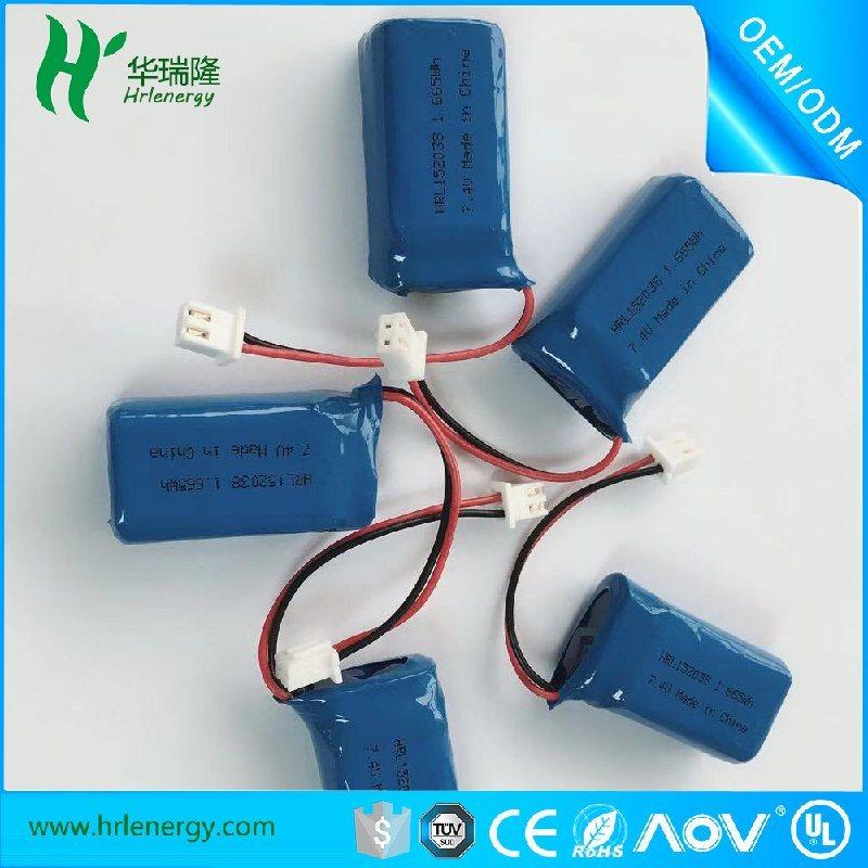 752036-450mah电池  聚合物 电池厂家