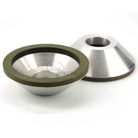 磨钨钢刀具11A2树脂结合剂碗型金刚石砂轮