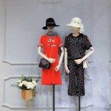 杭州絲綢女裝品牌她衣櫃安阜店庫存尾貨服裝女式貂絨衫品牌女裝折扣鄭州地攤女裝批發市場在哪