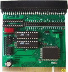 PCI转ISA转接卡模块 (PCM-9004)