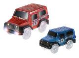 电动玩具车夜光DIY轨道车拼装轨道车儿童玩具