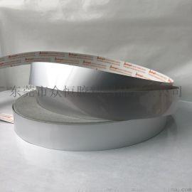 厂家直销铝箔胶带 耐高温防水火隔热导电 自粘纯铝胶带 屏蔽胶带