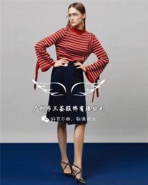 深圳一线品牌迪图都市品牌女装折扣走份批发货源