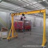 定做移動龍門吊架電動起重行車手推升降式1/3噸可拆卸小型龍門吊