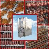 四川腊肠烟熏炉供应商 烟熏鹌鹑蛋设备 大型豆干香肠上色烟熏炉
