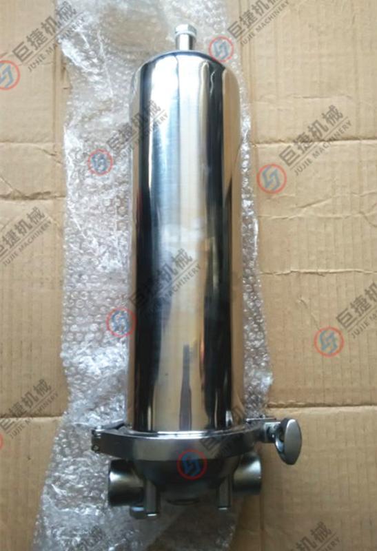 温州产单级管道式净水器-油水分离、单芯过滤器