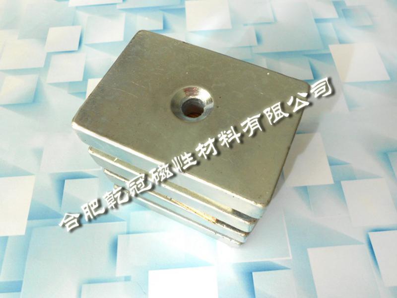 磁選機方塊 F80*60*17強磁方塊 吸鐵石
