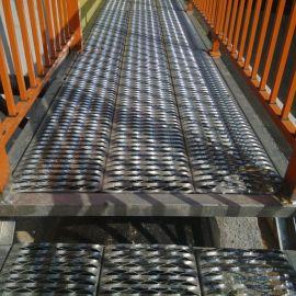 鳄鱼嘴防滑板 304不锈钢防滑板 楼梯防滑板
