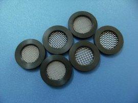 4分管橡胶过滤网片软管通用进水口过滤网垫圈