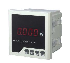 厂家生产数显表120*120 单相数显功率表 三相数显功率表