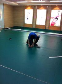 英利奥羽毛球场地健身房幼儿园室内PVC塑胶地板