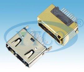 HDMI接口,HDMI 19PIN     母头