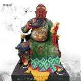 豫蓮花 1.6米關聖帝君神像 關公神像 關公塑像