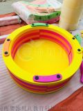 兒童用彩色水上漂流桶