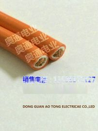 红外线感应门五金配件 伸缩闸门耐弯曲 扁平线7芯0.75mm2平方