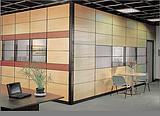 办公隔断玻璃隔断室内幕墙双玻百叶